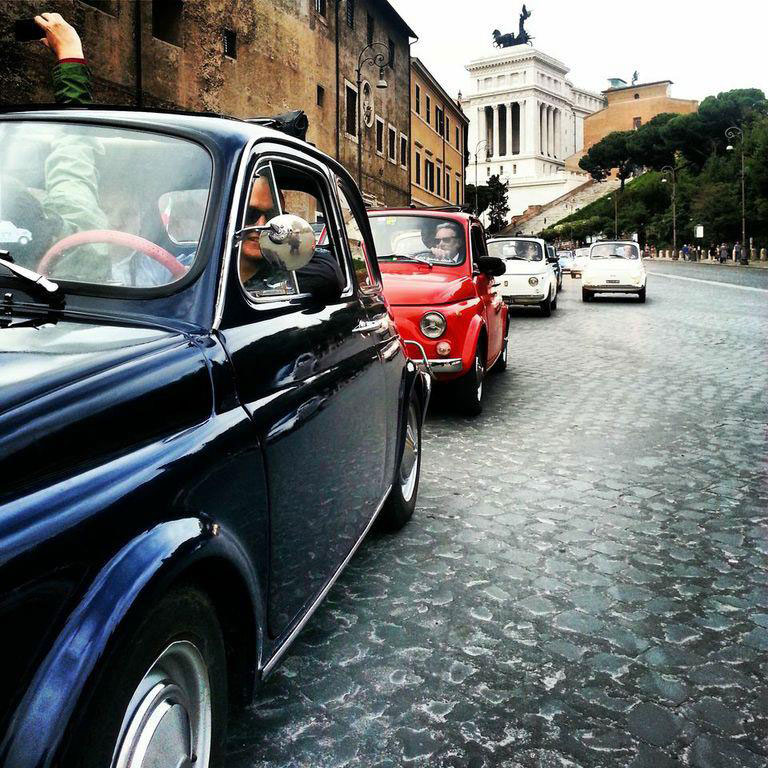2013 05 01 archive moreover Fiat 500 Guided Tour Of Rome besides Fiat 500 Guided Tour Of Rome also  besides Ready For The Fiat 500 Vintage Feel Good Therapy In Rome. on the great beauty tour in fiat 500 vintage car