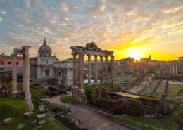Tour di Roma all'alba