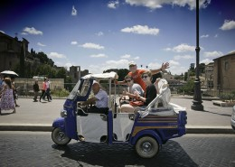 Veicoli - Tour di Roma in Ape Calessino 5