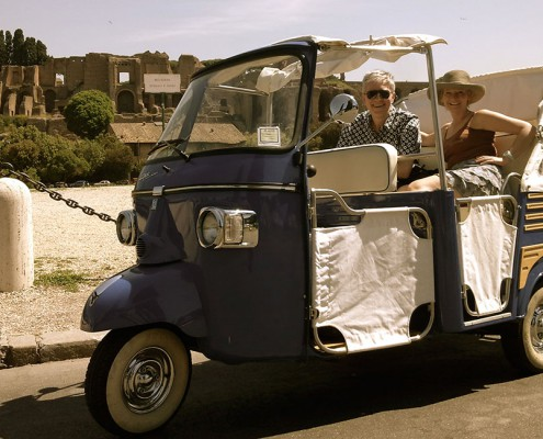 Veicoli - Tour di Roma in Ape Calessino 3