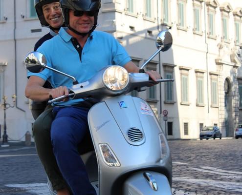 Veicoli - Visitare Roma in Vespa di coppia